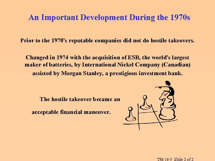 An Important Development During the 1970 s Prior to the 1970's reputable companies did