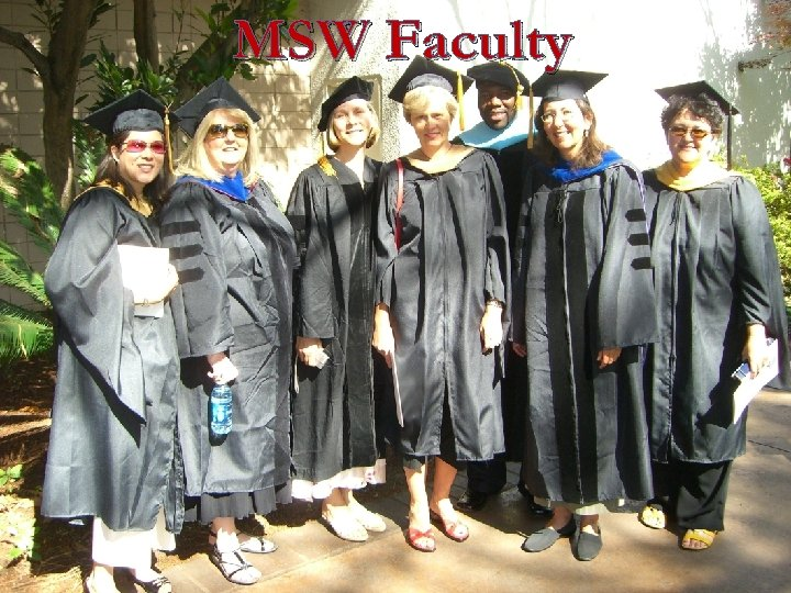 MSW Faculty
