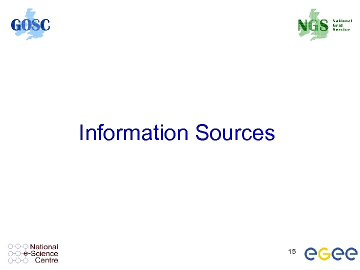 Information Sources 15
