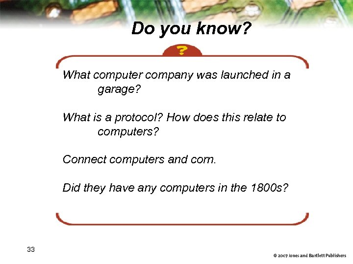 Do you know? What computer company was launched in a garage? What is a