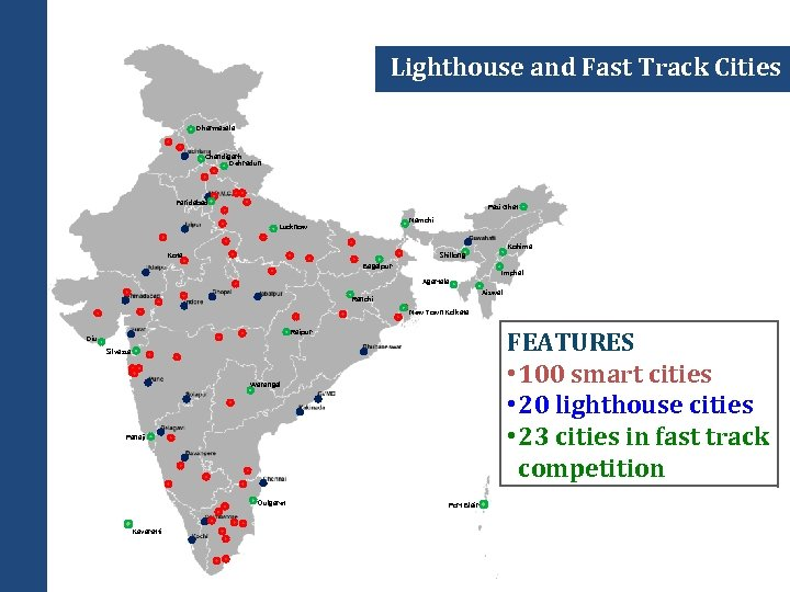 Lighthouse and Fast Track Cities Dharmasala Chandigarh Dehradun Faridabad Pasi Ghat Namchi Lucknow Kota