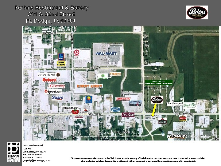 FORT DODGE MEMORIAL PARK CEMETERY 1010 Northern Blvd, Ste 208 Great Neck, NY 11021