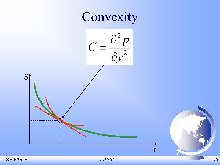 Convexity $ r Zvi Wiener FIFIBI - 1 35