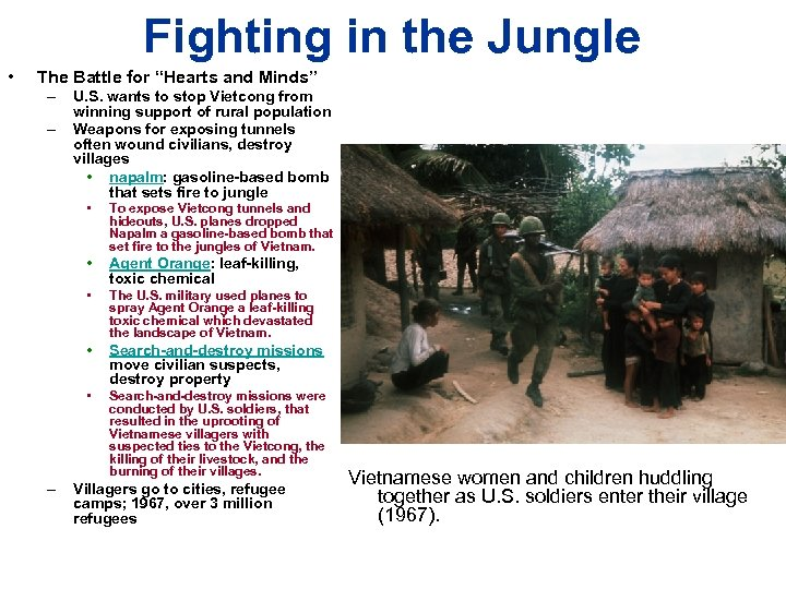 """Fighting in the Jungle • The Battle for """"Hearts and Minds"""" – – U."""