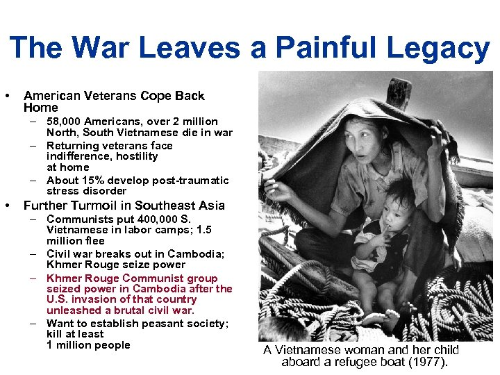 The War Leaves a Painful Legacy • American Veterans Cope Back Home – 58,