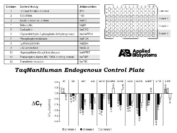 Taq. Man. Human Endogenous Control Plate CT