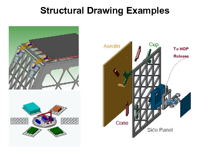 Structural Drawing Examples Aerofin Cup To HOP Release IRS Cone Side Panel