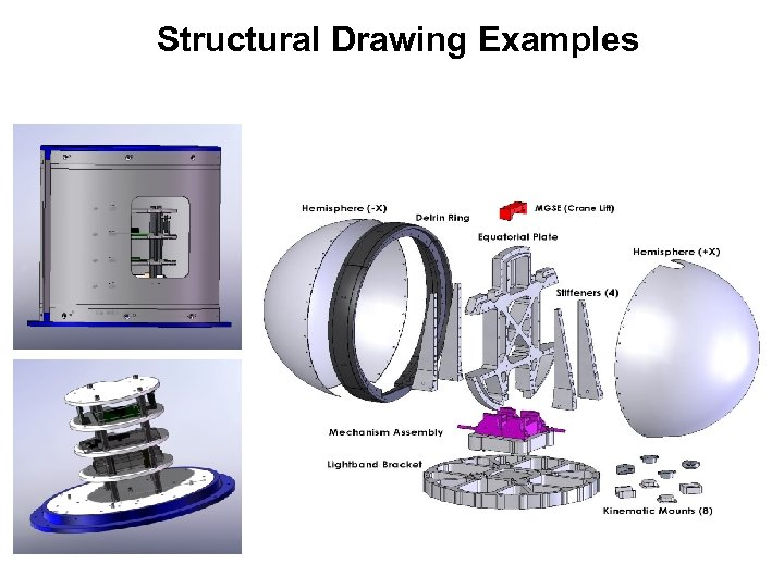 Structural Drawing Examples