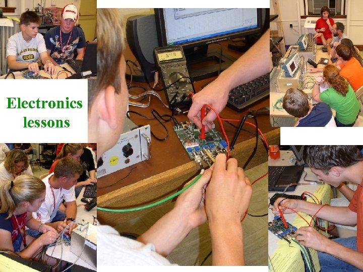 Electronics lessons