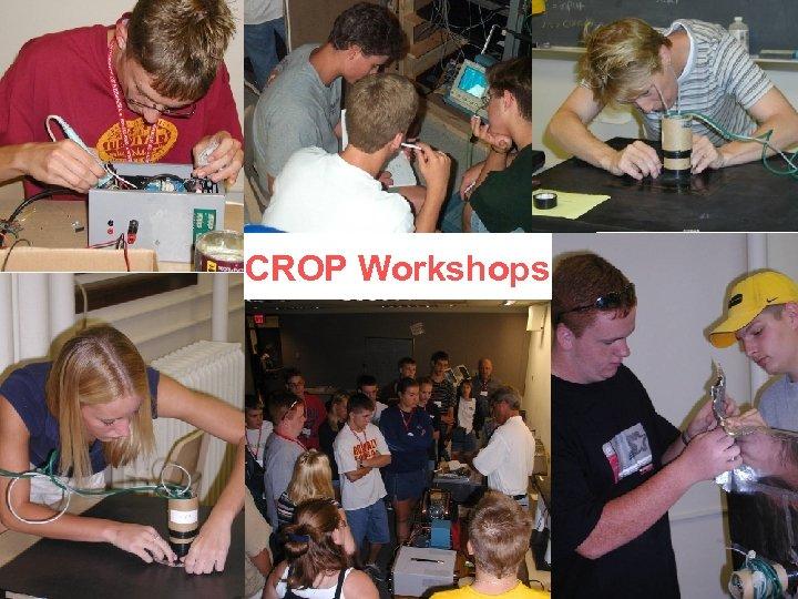 CROP Workshops