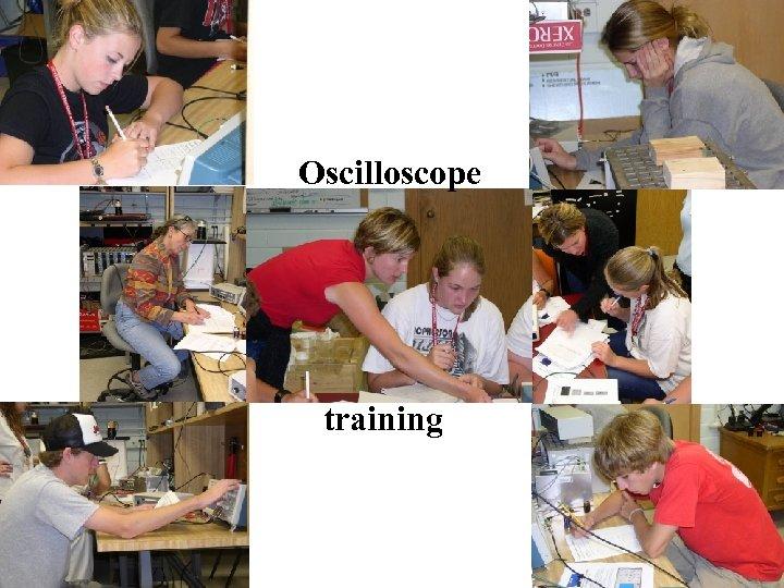 Oscilloscope training
