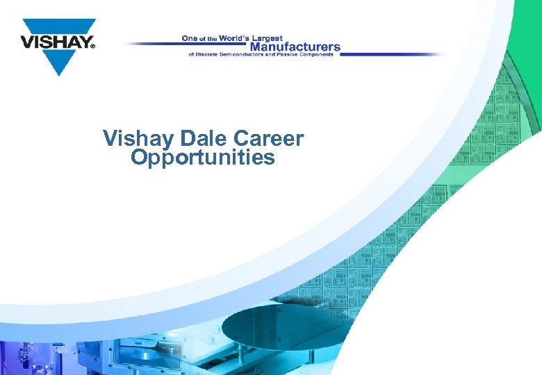 Vishay Dale Career Opportunities