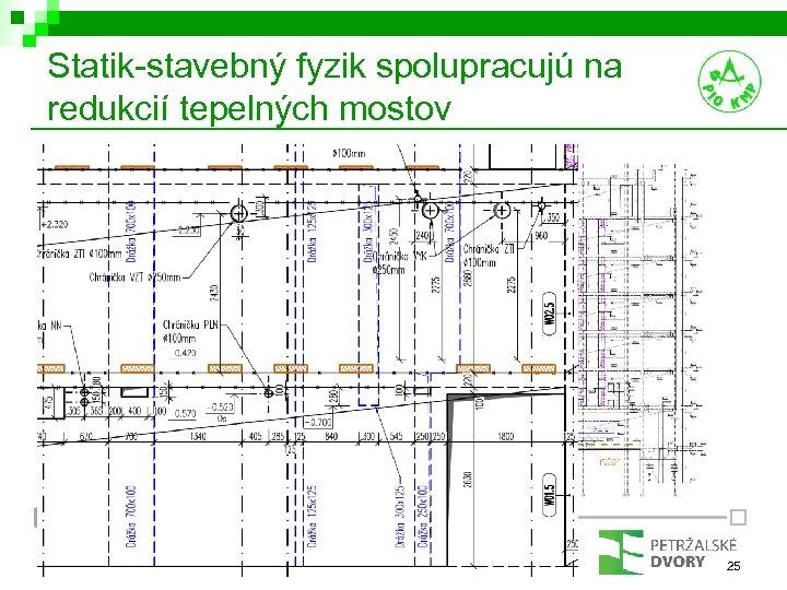 Statik-stavebný fyzik spolupracujú na redukcií tepelných mostov PROGRAM KONCEPT PROJEKT 25