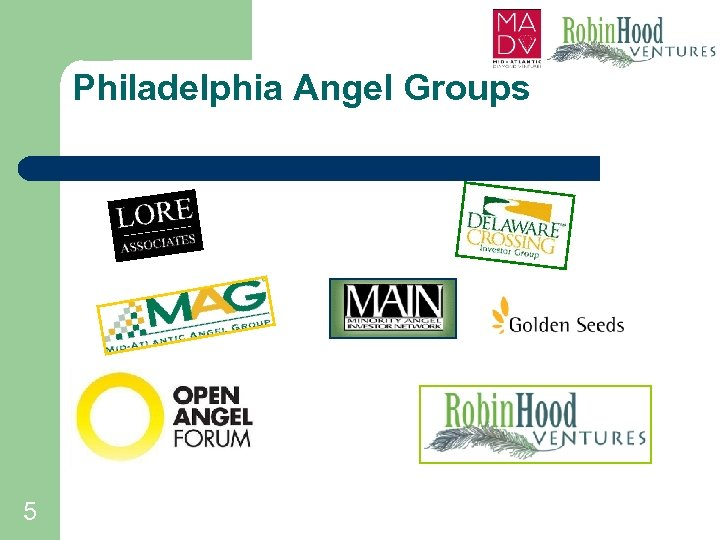 Philadelphia Angel Groups 5