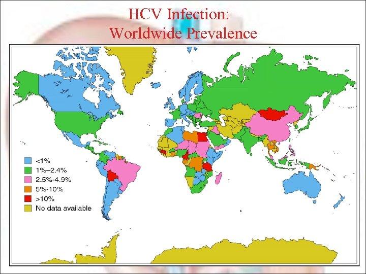 HCV Infection: Worldwide Prevalence