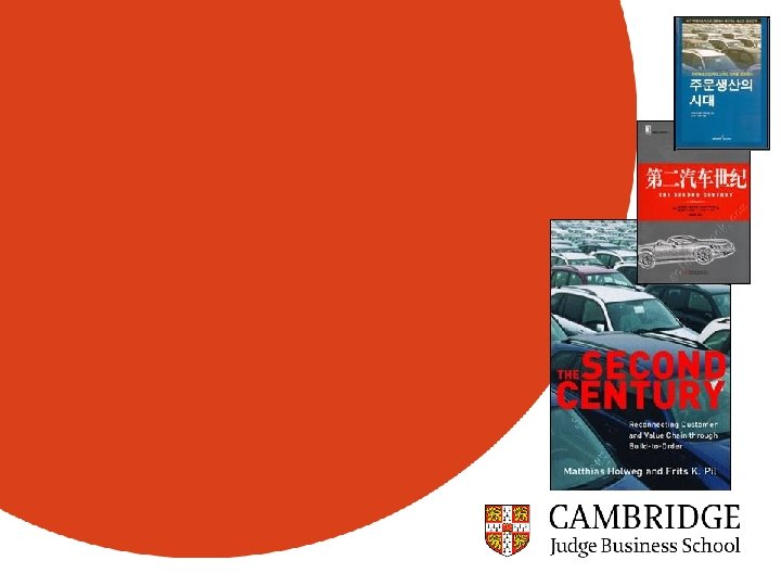 Centre for Competitiveness and Innovation, Judge Business School, Univ. of Cambridge http: //www-innovation. jbs.