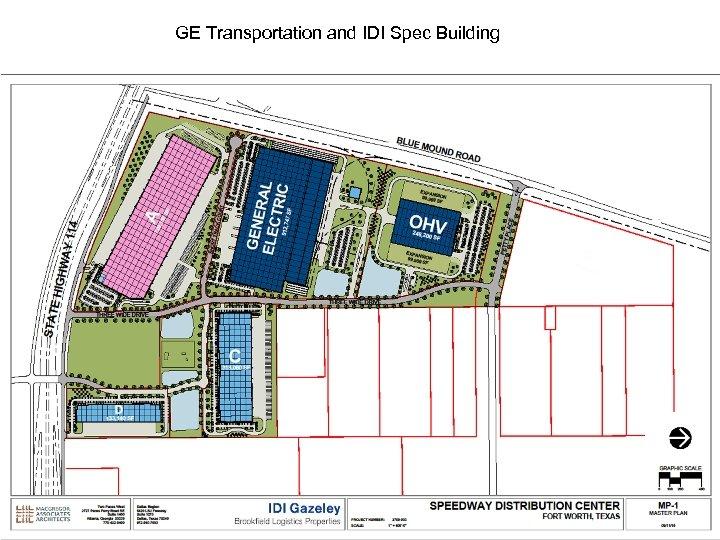 GE Transportation and IDI Spec Building 13