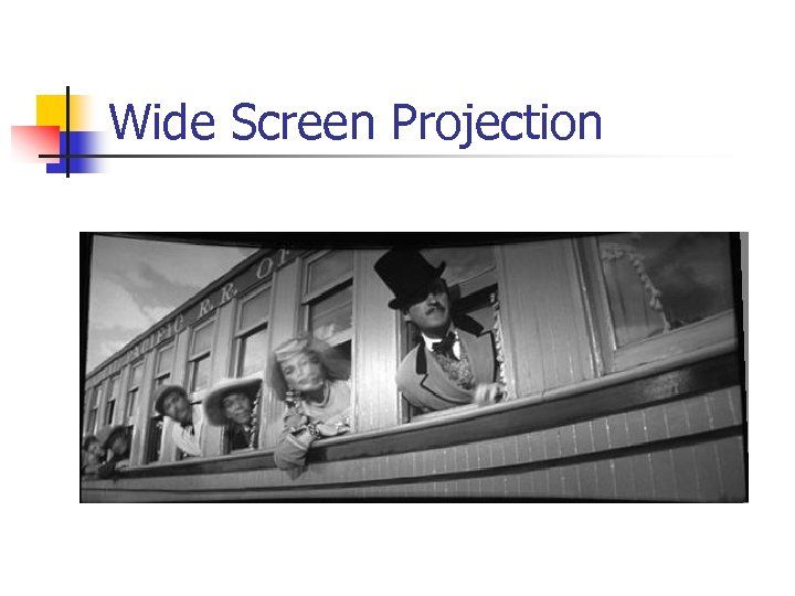 Wide Screen Projection
