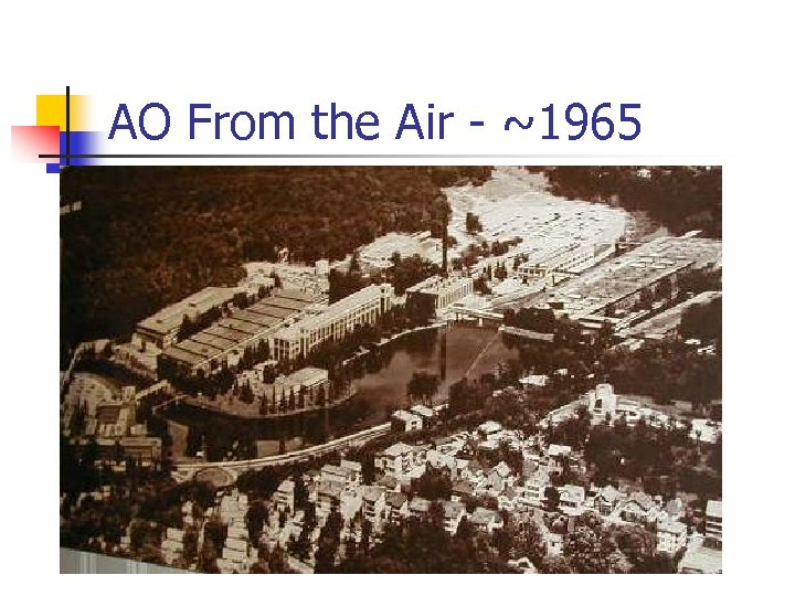 AO From the Air - ~1965
