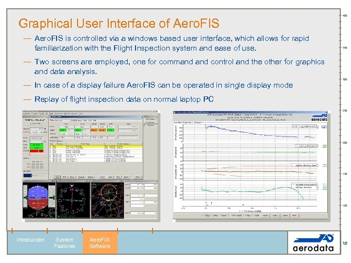 Graphical User Interface of Aero. FIS — Aero. FIS is controlled via a windows