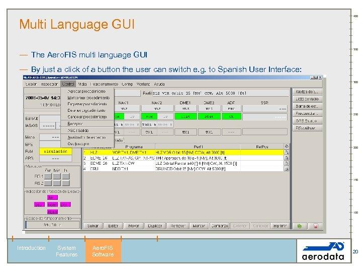 Multi Language GUI — The Aero. FIS multi language GUI 400 350 — By