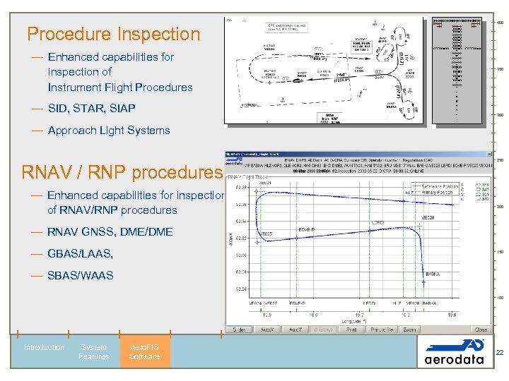Procedure Inspection — Enhanced capabilities for inspection of Instrument Flight Procedures — SID, STAR,