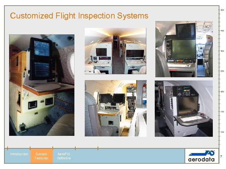 400 Customized Flight Inspection Systems 350 300 250 200 150 100 Introduction System Features