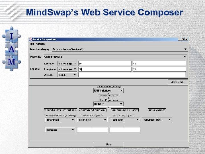 Mind. Swap's Web Service Composer
