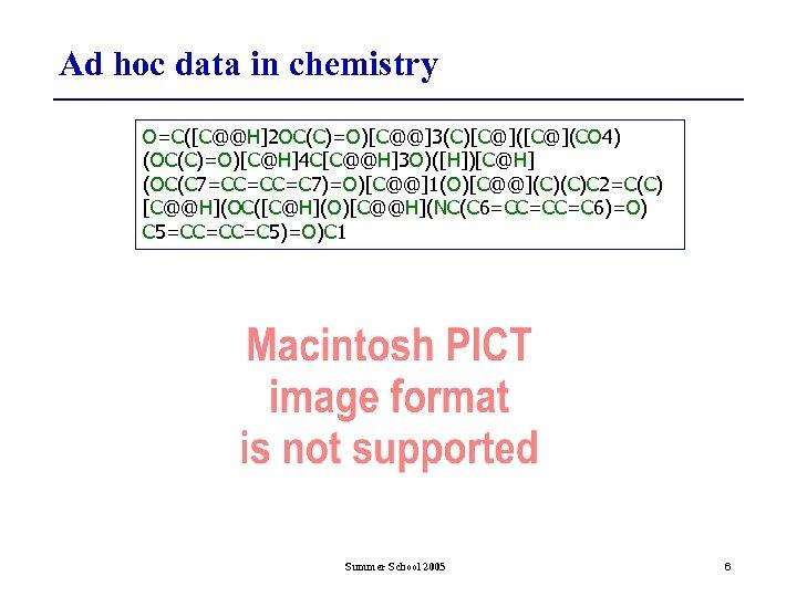 Ad hoc data in chemistry O=C([C@@H]2 OC(C)=O)[C@@]3(C)[C@](CO 4) (OC(C)=O)[C@H]4 C[C@@H]3 O)([H])[C@H] (OC(C 7=CC=CC=C 7)=O)[C@@]1(O)[C@@](C)(C)C