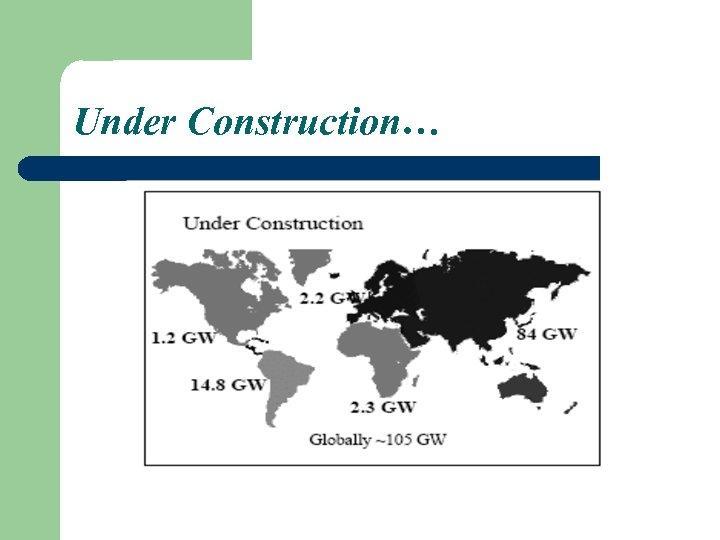 Under Construction…