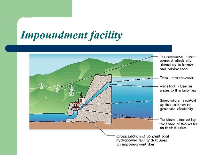 Impoundment facility