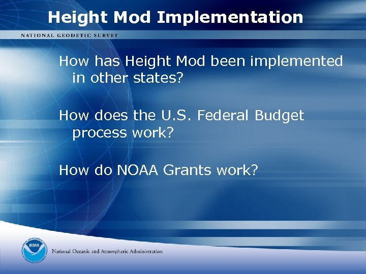 Height Mod Implementation How has Height Mod been implemented in other states? How does