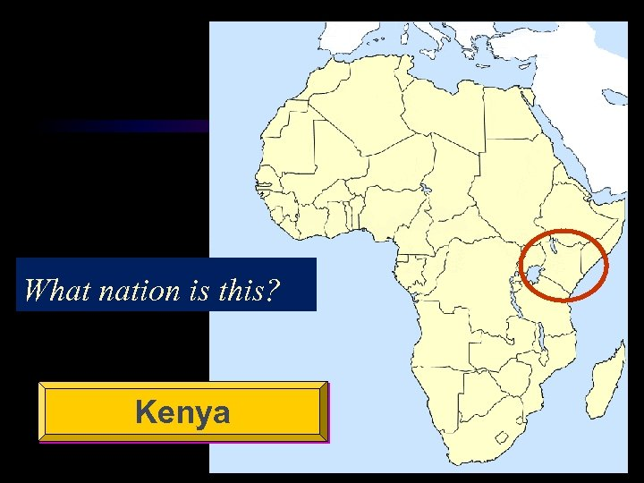 What nation is this? Kenya