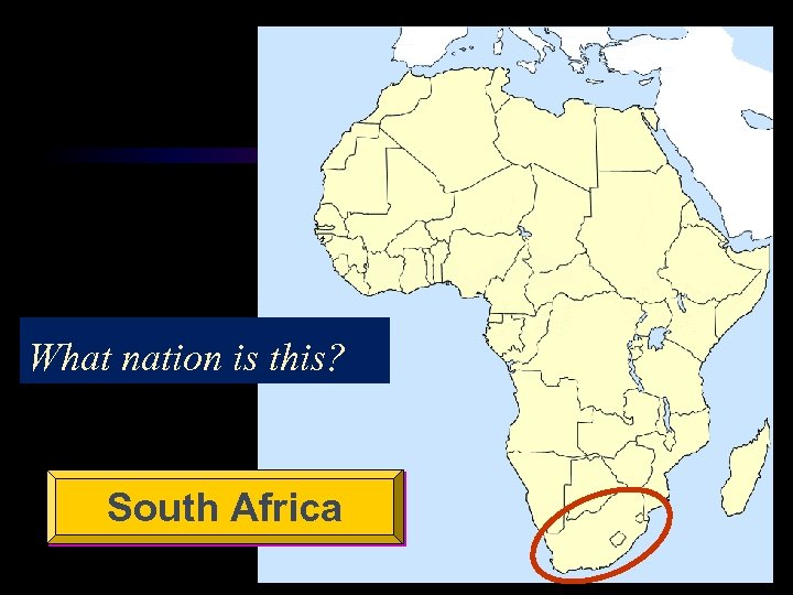 What nation is this? South Africa