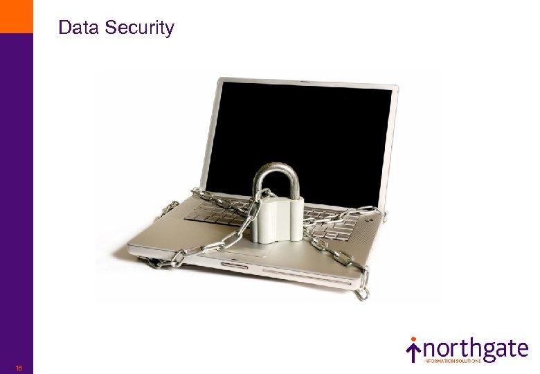 Data Security 16