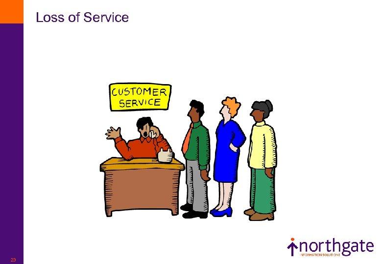 Loss of Service 23