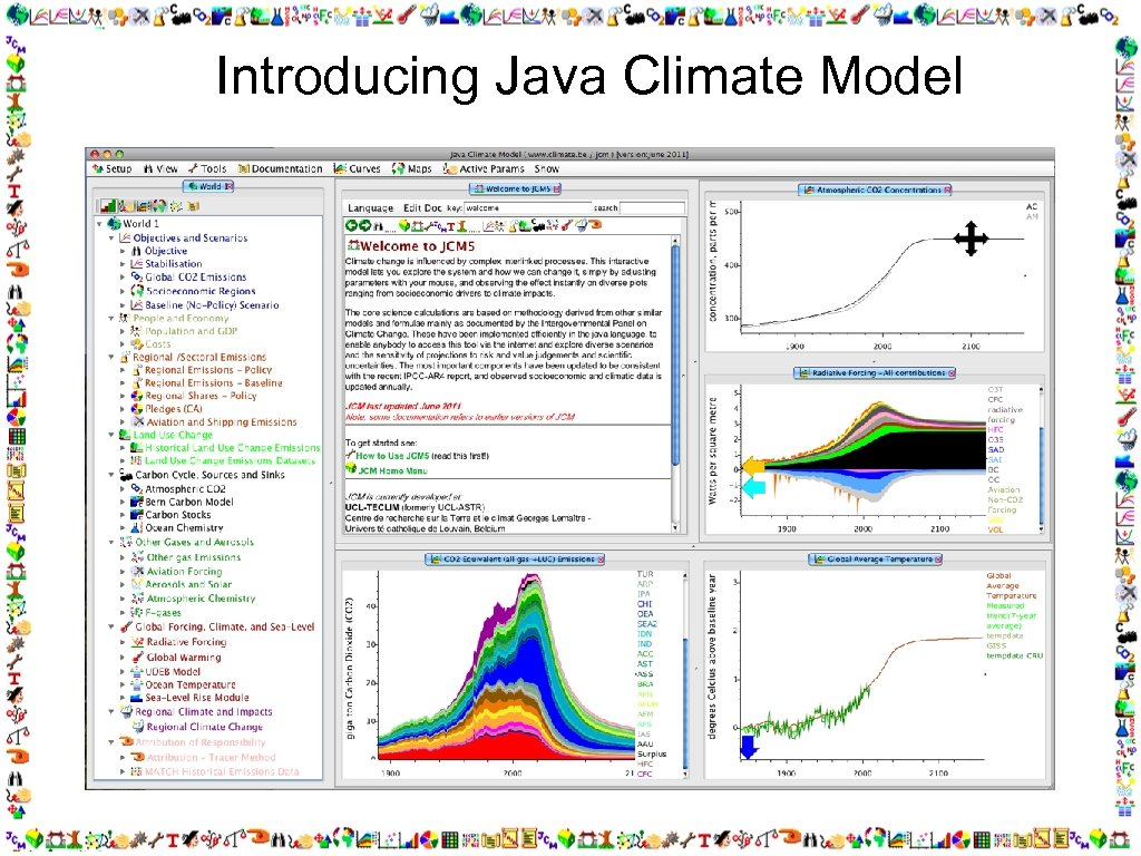 Introducing Java Climate Model matthews@climate. be, model: www. climate. be/jcm,