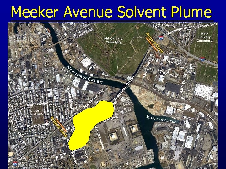 Meeker Avenue Solvent Plume