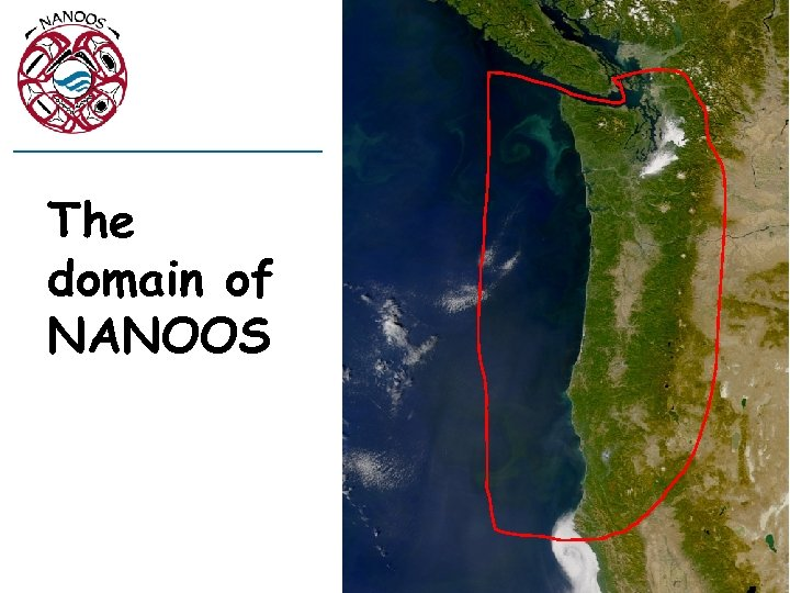 The domain of NANOOS
