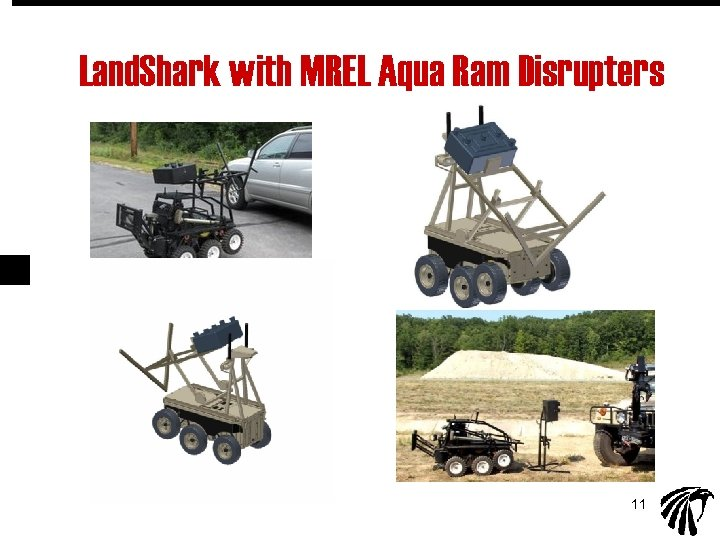 Land. Shark with MREL Aqua Ram Disrupters 11