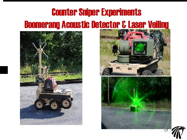 Counter Sniper Experiments Boomerang Acoustic Detector & Laser Veiling 17