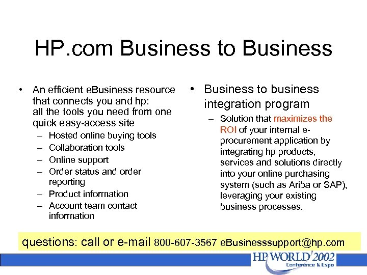 HP Direct An Overview of Direct Purchasing Methods