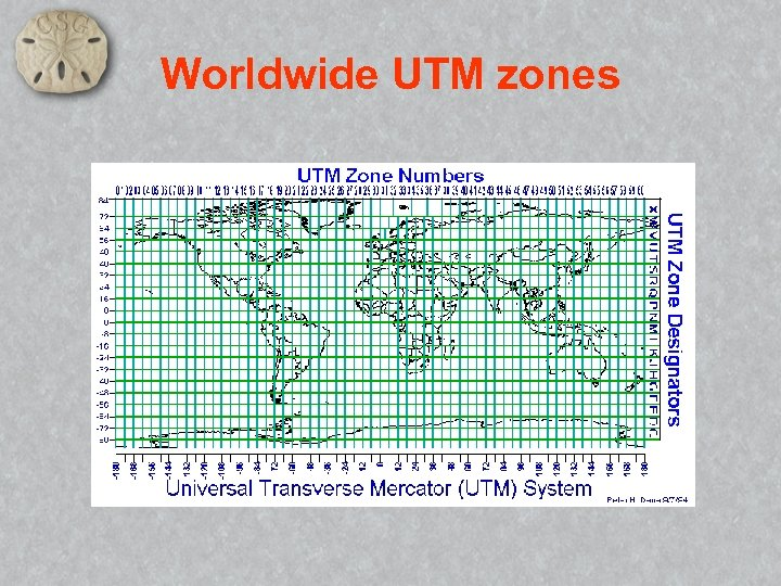 Worldwide UTM zones