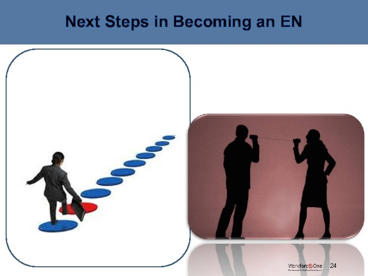 Next Steps in Becoming an EN (Enter content here) # 24