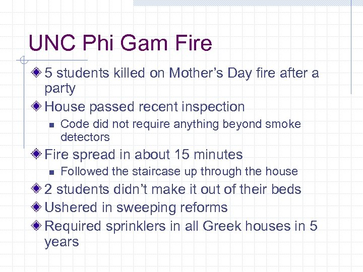 UNC Phi Gam Fire 5 students killed on Mother's Day fire after a party