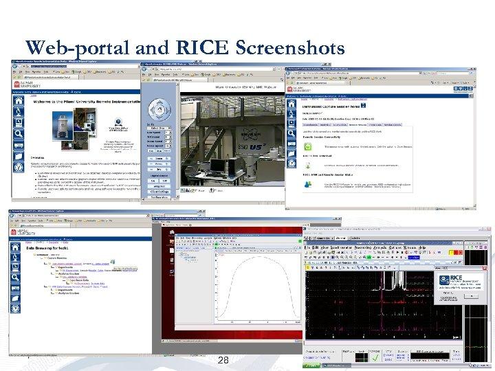 Web-portal and RICE Screenshots 28