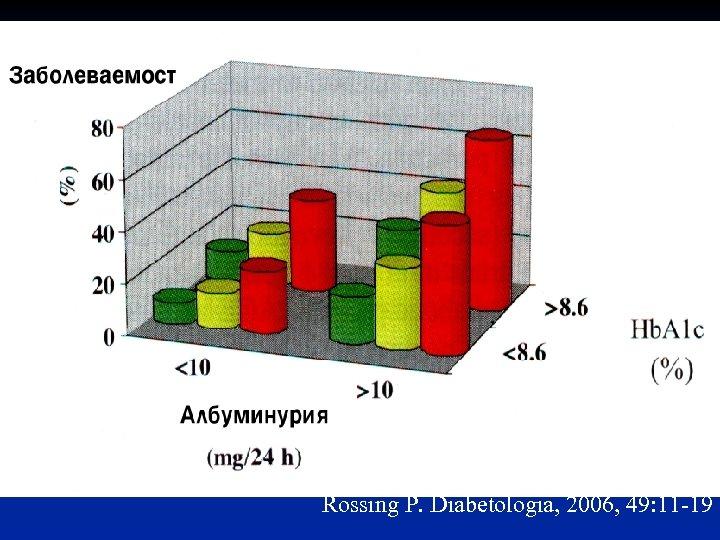 Rossing P. Diabetologia, 2006, 49: 11 -19