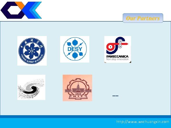 Our Partners …… 22 http: //www. wxchuangxin. com