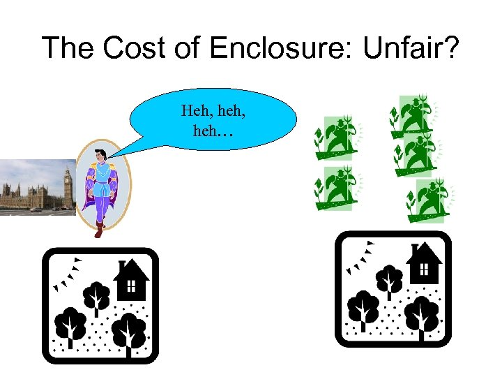 The Cost of Enclosure: Unfair? Heh, heh…