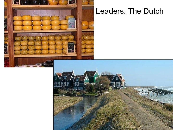 Leaders: The Dutch